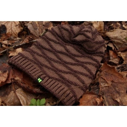 Czapka Beanie L-Fleece Brown X