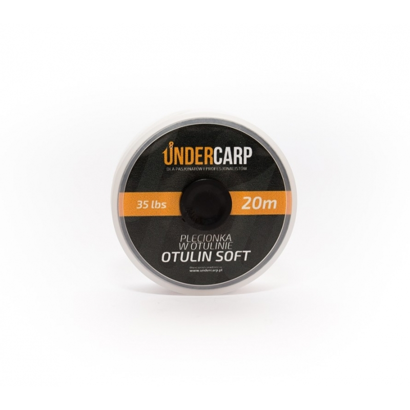 Plecionka przyponowa w otulinie OTULIN SOFT brązowa UNDERCARP