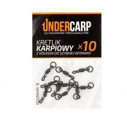 Krętlik karpiowy z kółkiem do szybkiej wymiany Undercarp