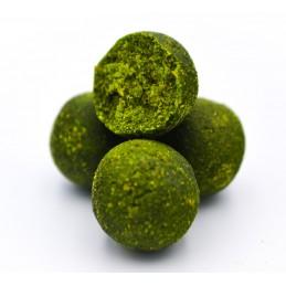 Green Mulberry Top Shelf Boilies Massive Baits