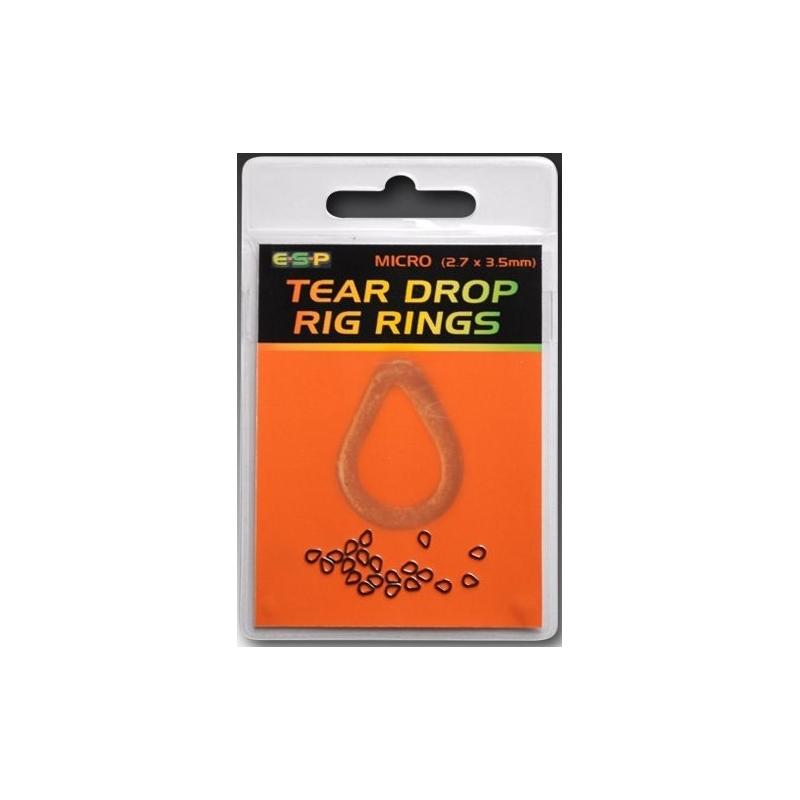 ESP Teardrops rings - kółko łezka