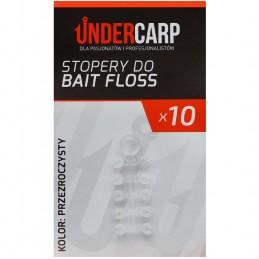 Stopery do Bait Floss przezroczyste Undercarp