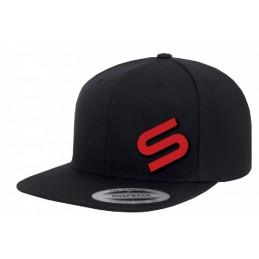 Black Snapback Icon Cap Sonik Sports