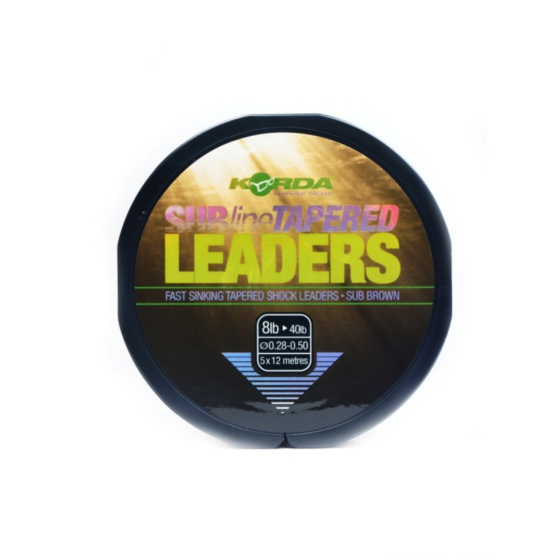 Subline Tapered Leader Korda Products