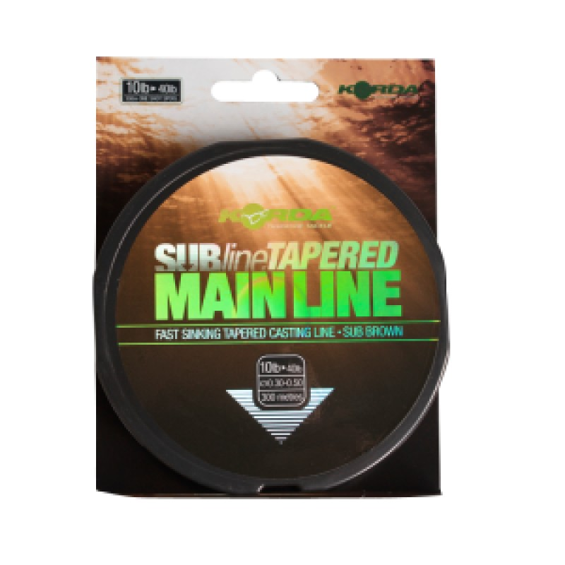 Subline Tapered Mainline Korda Products