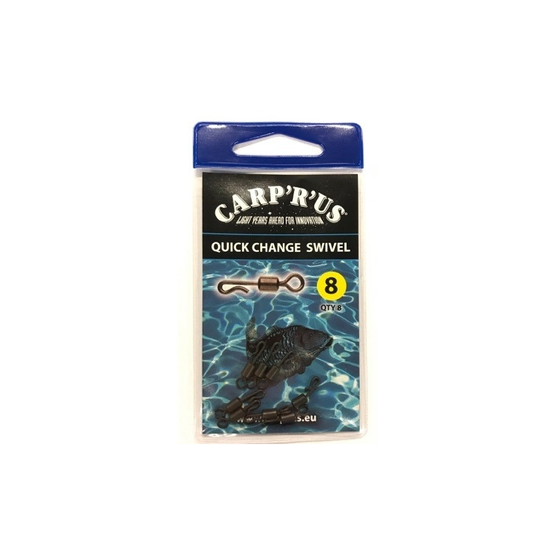 Quick Change Swivel size 8 Carp'R''us