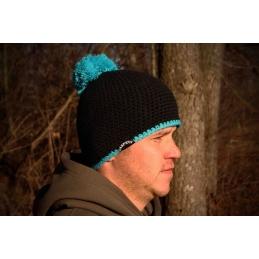 Czapka zimowa CarpRus Beanie black -blue
