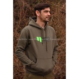 Bluza zielona Nikl - nowe logo