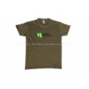 Zielona Koszulka T-shirt logo Karel Nikl