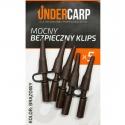 Mocny bezpieczny klips brązowy UNDERCARP