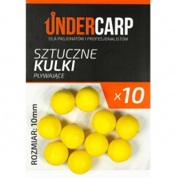 Sztuczne kulki pływające – żółte UNDERCARP