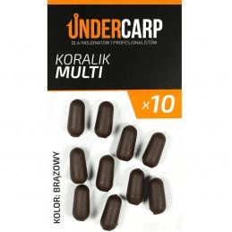 Koralik Multi - brązowy  UNDERCARP