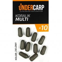 Koralik Multi - zielony  UNDERCARP