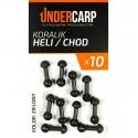 Koralik Heli / Chod - zielony UNDERCARP