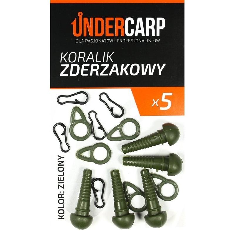 Koralik zderzakowy – zielony UNDERCARP
