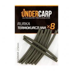Rurka termokurczliwa zielona  2,5 mm UNDERCARP