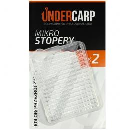 Mikro stopery - przezroczyste UNDERCARP
