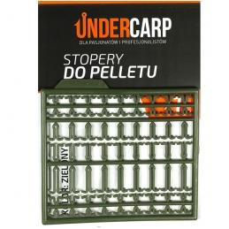 Stopery do pelletu - zielone  UNDERCARP